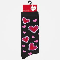 Vday Crew Sock at Shopko by Pacific Legwear