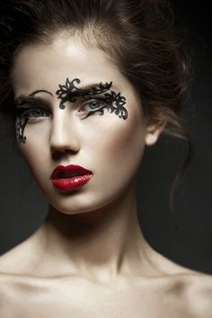 make-up-is-an-art:  by Patrick Styrnol on Behance