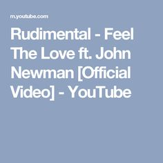 book report rudimental feel the love