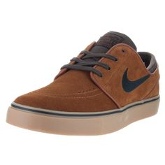 sports shoes 35f9b f35f9 Nike Men s Zoom Stefan Janoski Hazelnut, Black, and Baroque Skate Shoes  Suede Skate Shoes