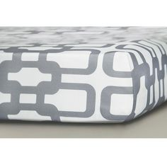 Infant Oilo Sateen Fitted Crib Sheet ($40) ❤ liked on Polyvore