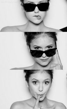 Nina Dobrev- I've seen this girl up close & personal & she is just as beautiful as you think. #naturalbeauty