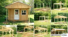 How To Construct A 12×20 Wood Cabin On A Budget - http://www.decoracy.com/interior-decor/how-to-construct-a-12x20-wood-cabin-on-a-budget.html