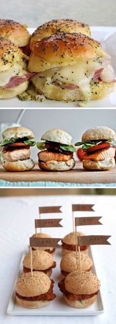 Creative Wedding Food – Sliders » Alexan Events | Denver Wedding Planners, Colorado Wedding and Event Planning