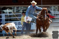 2012 Wrangler National Finals Rodeo Qualifiers: Tie-Down Roping - Tuf ...