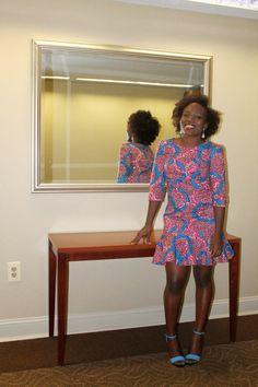 McCall's Pattern 6988   Ankara Dress