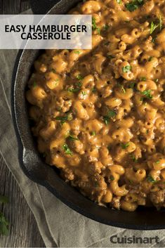 Ever make a hamburger casserole? Try this easy recipe for dinner tonight! Grilled Chicken Recipes, Beef Recipes, Cooking Recipes, Kraft Recipes, Fun Recipes, Recipies, Easy Hamburger Casserole, Hamburger Maker, Chicken Casserole