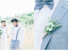 Heiraten am See - natürlich schöne Inspirationen von Milles Fleurs und Anja…
