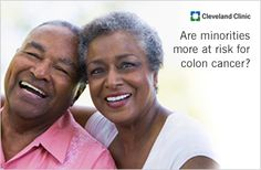 African Americans and other minorities have a 26% higher risk of developing colon cancer. Learn more about this increased risk.