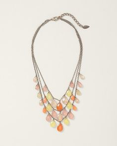 Citrus teardrop necklace  $49.95  +50% Off!