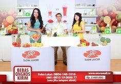 JR Slow Juicer #MoreMall #HomeShopping #Indonesia www.moremall.tv