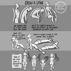 """Tuesday Tips --- Grow A Spine As simple as it sounds, a character """"standing up straight"""" or """"slouching down"""" reveals so much about them.…"""