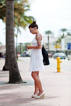 Roses, Wedges, Dress