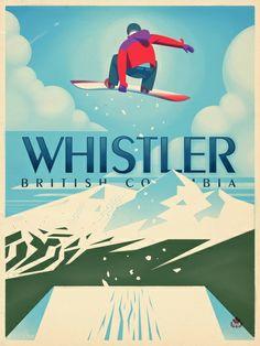 vintage snowboarding