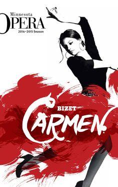 Carmen. Minnesota Opera. 2014-2015 Season