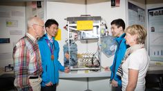 Ash Kelly      Grade 11 students Charles Wang (left) and Spencer Zezulka (right) of Surrey were awarded an $8,000 Youth Can Innovate Award from the Gwyn Morgan and Patricia Trottier Family Foundation (pictured here), at the Canada Wide Science Fair. (Youth Can Innovate Award/Chrystal... - #Biofuel, #British, #Columbia, #Fair, #National, #Prize, #Project, #Science, #Students, #Surrey, #Top, #World_News