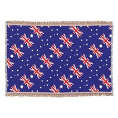 Australia Throw Blanket - diy cyo customize create your own personalize