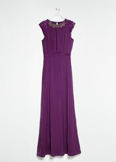 Pin for Later: Brides, Bookmark These 24 Dresses For Your Moms Mango Beaded Gown Mango Bead Gown ($170)