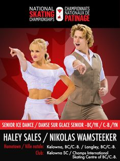 Athlete Spotlight: Haley Sales and Nikolas Wamsteeker – Skate Canada Norway Tours, Skate Canada, Ice Dance, Winning The Lottery, 4 Year Olds, Meals For One, Figure Skating, Dream Vacations, Spotlight