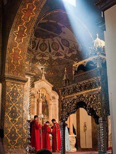Echmiadzin Cathedral, Armenia by sjdunphy, via Flickr