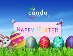 Happy Easter Weekend from all of us @candugraphics.