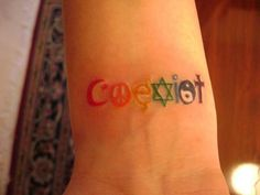effin rainbow coexist. <3