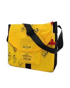 Bag to Life Jumbo Laptop bag -ideale tas voor je laptop. Nominee voor de German Design Award!