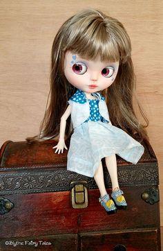 OOAK Custom BLYTHE doll  AMELIE  by Blythe by BlytheFairyTales