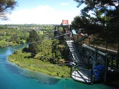 Bungy jumping - Taupo, NZ - DONE!