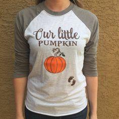 7b484a5426646 My Little Pumpkin Baseball Style Shirt. Pregnancy Halloween Shirt. Baby  Bump Halloween Shirt.