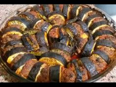 YouTube Turkish Recipes, Ethnic Recipes, Potluck Recipes, Mediterranean Recipes, Ratatouille, Vegetable Recipes, Iftar, Sausage, Good Food