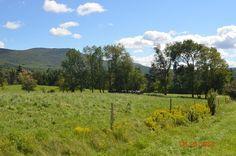 Blue skies in Vermont