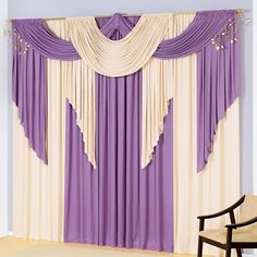 Wedding Decorations Elegant Church Curtains 41 Ideas For 2019 Curtains And Draperies, Types Of Curtains, Elegant Curtains, Beautiful Curtains, Modern Curtains, Pleated Curtains, Wedding Stage Decorations, Backdrop Decorations, Rideaux Design