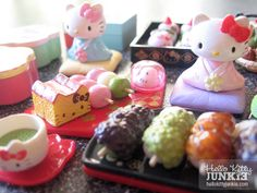 Hello Kitty Japanese Sweets Re-Ment  http://www.modes4u.com/japanese/hello+kitty+re-ment