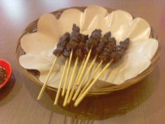 Sate (Grilled Chicken Steak)..Exotic Indonesia..