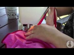 Good video on how to use a Bias Binding Foot.