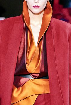 Great mixture of colors, fabrics and looks - the collar and the cape coat look are wonderful