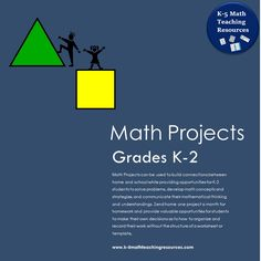 Updated September 2015 - Now includes 34 Take Home Math Projects aligned with the CCSS/send home one project a month in place of boring worksheets for homework.