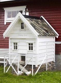 Eget hus til hønene