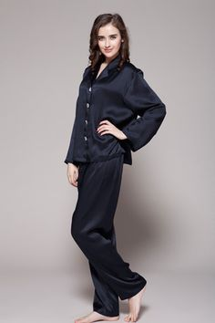 Ladies Sleepwear | Morning Dew Women's Silk Pajamas | Sweet Dreams ...