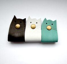 Headphone Wrap, Headphone Holder, Headset Holder, Cat Lover Gifts, Cat Gifts, Cat Lovers, Shoe Holders, Cord Holder, Leather Cord