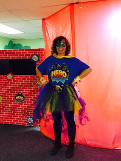 """Hero Tip! Keep your upcoming Hero Central VBS in mind this fall. Have members save their """"dress up"""" costumes to use for VBS! See all the ways leaders can dress the part of being Captain Shield the assembly leader!! cokesburyvbs.com"""