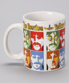 Take a look at this The Beatles 'Yellow Submarine' Portrait Mug by Rock Stars Collection