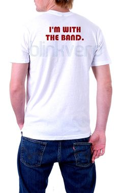 i'm with the band tee awesome unisex tshirt //Price: $10 & FREE Shipping //     #gift shirts