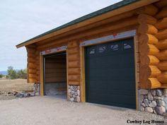 1000 Images About Log Garages On Pinterest Cheap Log