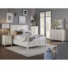 Paolina 6-piece King Bedroom Set