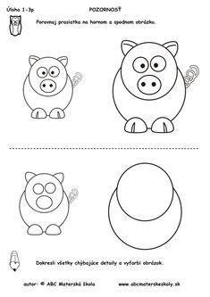Výsledok vyhľadávania obrázkov pre dopyt pracovný list pre predskolákov Preschool, Teaching, Comics, Christmas, Activities, Author, Draw, Xmas, Kid Garden