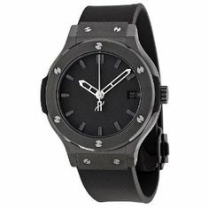 Hublot Classic Fusion Black Dial Rubber Strap Mens Watch CMRX $ 7,900.00