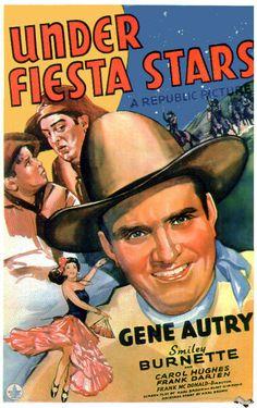 Under Fiesta Stars - 1941. #film movie #cinema #posters