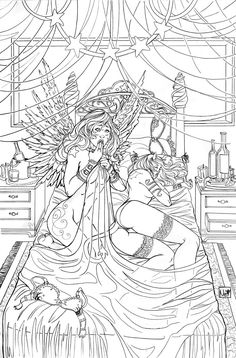 What Happened Lines By ToolKitten On DeviantArt Adult Coloring PagesColoring BooksAlice
